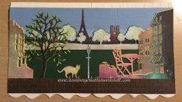 Die selbst gestaltete Karte von Frau Hafke