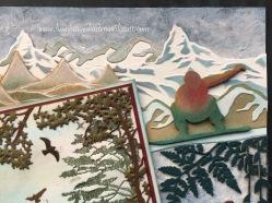 Urlaubsinspirationen - Schneebedeckte Bergketten, Vulkane und ihre Krater Holiday inspirations - snow covered mountains, vulcanos and their craters