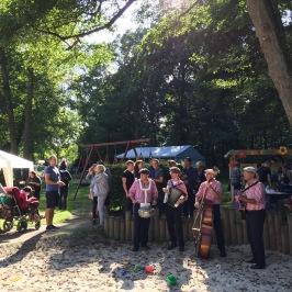 Sommerfest - gute Laune