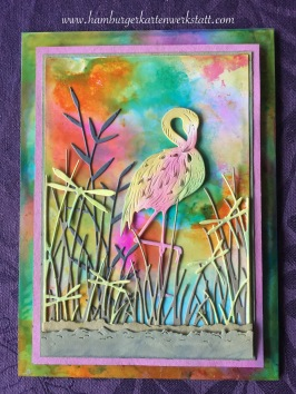 Flamingo - Distress Inks 03