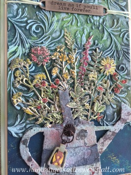 Blumen und Kanne 03